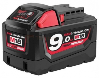 Aku Milwaukee M18 B9 - 9,0 Ah Li-ion